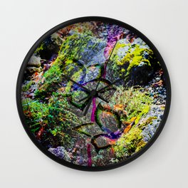 Nature Abstract 3 Wall Clock