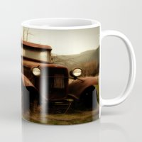 ford Mugs featuring Ford by Urban Frame Photography