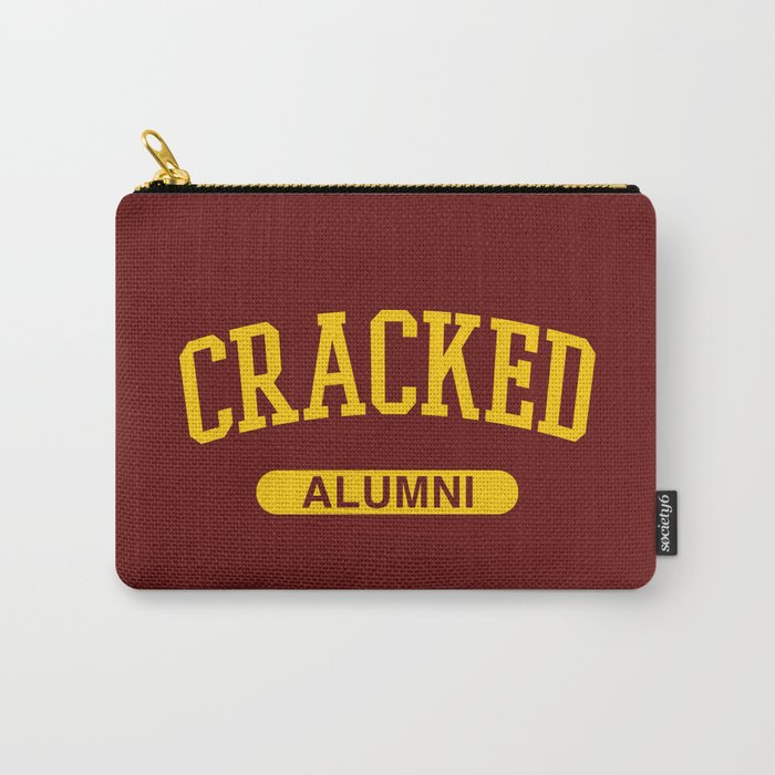 Cracked Alumni Carry-All Pouch