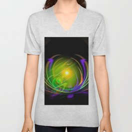 Magical Light and Energy 11 Unisex V-Neck