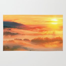 Sunset before Rug