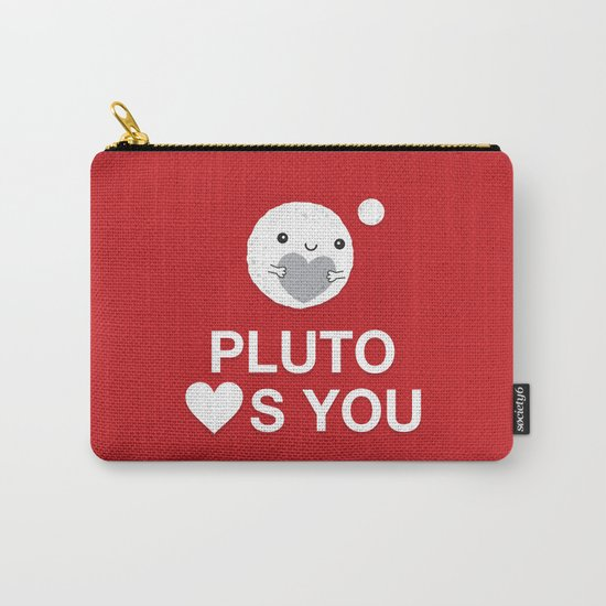 Keep Calm – Pluto Loves You Carry-All Pouch
