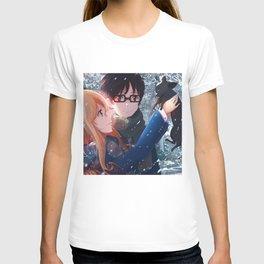 Shigatsu wa Kimi no Uso Your Lie in April T-shirt