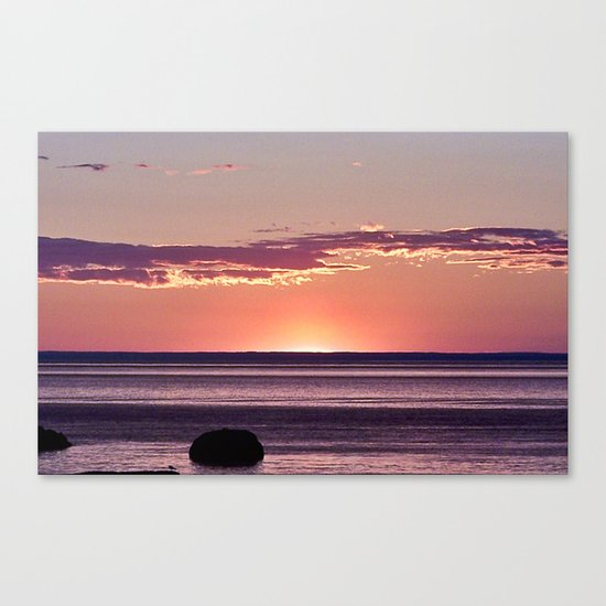 Dusk in the East Canvas Print