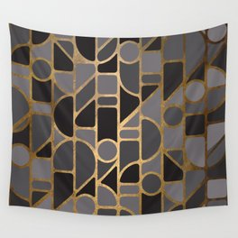 Art Deco Graphic No. 115 Wall Tapestry