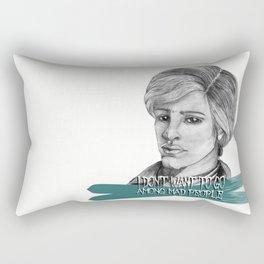 Alistair in wonderland Rectangular Pillow
