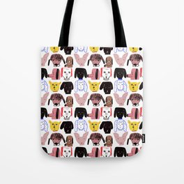 My Doggy Friends Tote Bag