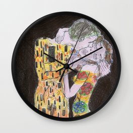 Revisiting Klimt Wall Clock