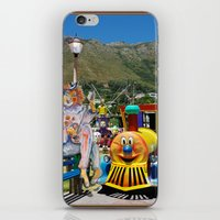 forever young iPhone & iPod Skins featuring Forever Young by CrismanArt