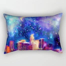 Starry Night Los Angeles Rectangular Pillow