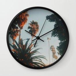Fuller Avenue, Los Angeles, CA  Wall Clock