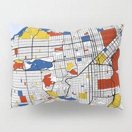 San Francisco Mondrian Pillow Sham