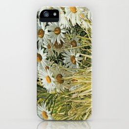 It's coming up daisies iPhone Case