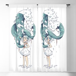 Daughter of the Sea Blackout Curtain