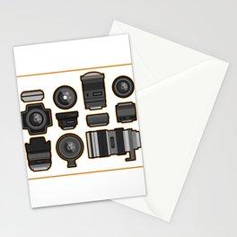 Camera Lense Photographer Photography Cameraman Gift Stationery Cards
