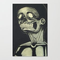 Skinless Canvas Print