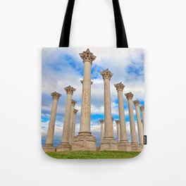 Capitol Arboretum Columns Tote Bag