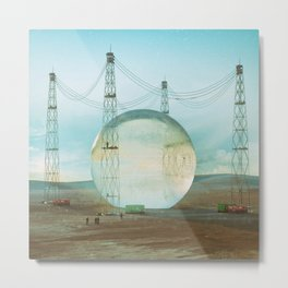 GAUSSIAN HARVEST (everyday 06.10.15) Metal Print