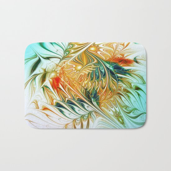 Gently Moving Waves Bath Mat