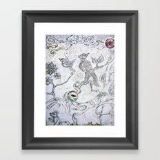 Dharma Tree Framed Art Print