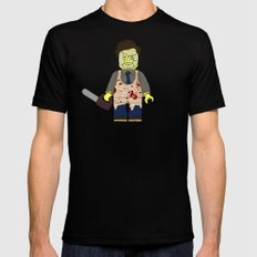 LEGOFACE Black SMALL Mens Fitted Tee