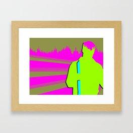 Trek for the Body and Mind Framed Art Print