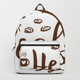 Hello Coffee Backpack