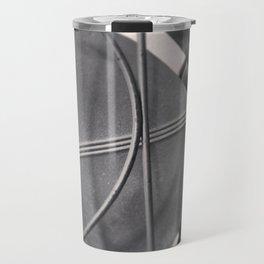 Black And White Vintage Handybreeze Fan Travel Mug