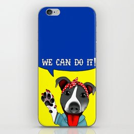 Lu the Riveter! iPhone Skin