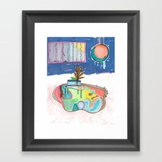 Pretty Cages Framed Art Print