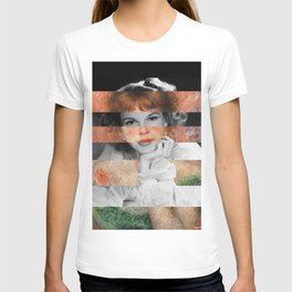 Renoir's Jeanne Samary in a low necked dress & Judy Garland T-shirt