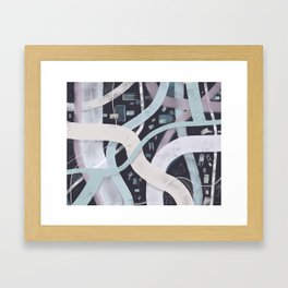 Little City Night | Inviting Framed Art Print