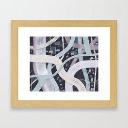Little City Night | Inviting Framed Art Print