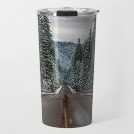 Winter Road Trip - Pacific Northwest Nature Photography Travel Mug