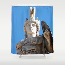 Athens III Shower Curtain