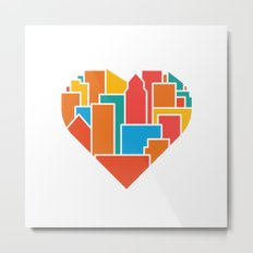 Livin' for the City Metal Print