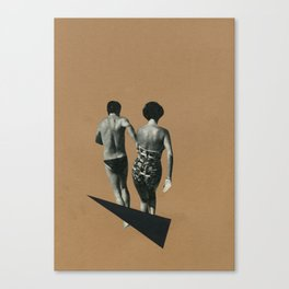 Beach Romance Canvas Print