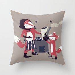 La Castanyada Throw Pillow