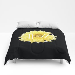Trench Yellow Flower Comforters