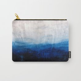 All good things are wild and free - Ocean Ombre Painting Carry-All Pouch