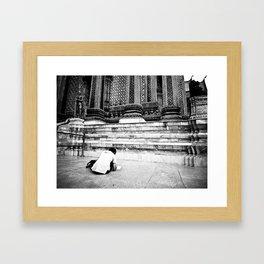 Student Artist Framed Art Print