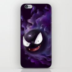 Gastly iPhone Skin