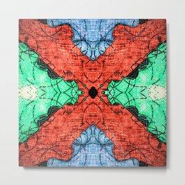 Abstract Pattern Design Metal Print