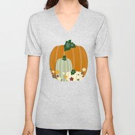 Pumpkin Collection Unisex V-Neck
