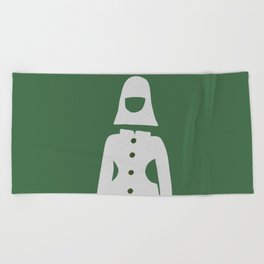 Fashion Space Age Beach Towel