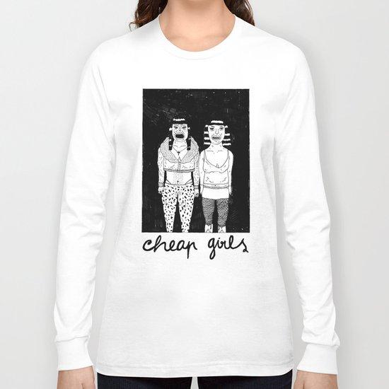 CHEAP GIRLS Long Sleeve T-shirt