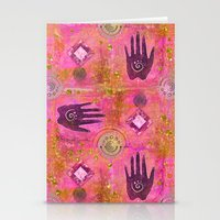 hands Stationery Cards featuring Hands by LebensART