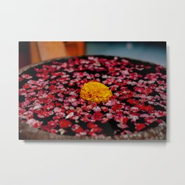 A Marigold In Indonesia Metal Print
