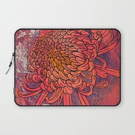 Chrysanthemum (Silk screen & fine liner) Laptop Sleeve