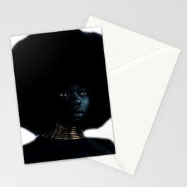 Afro Queen Stationery Cards